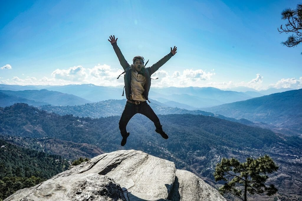 Jump for Joy and Celebrate Success