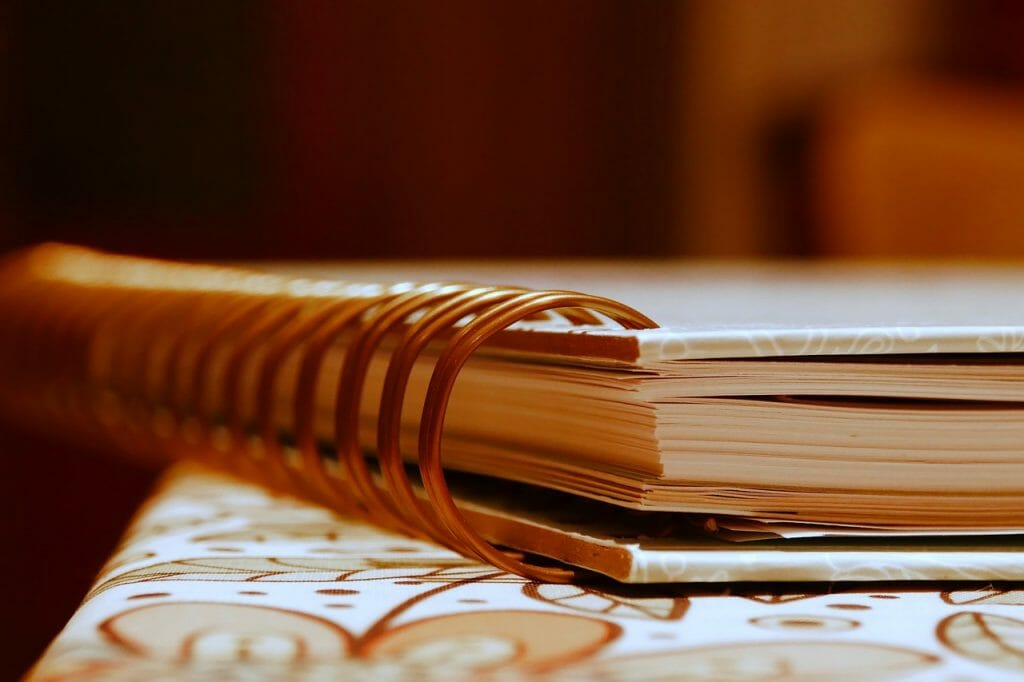 Ring Binder Notebook Notepad  - gamagapix / Pixabay