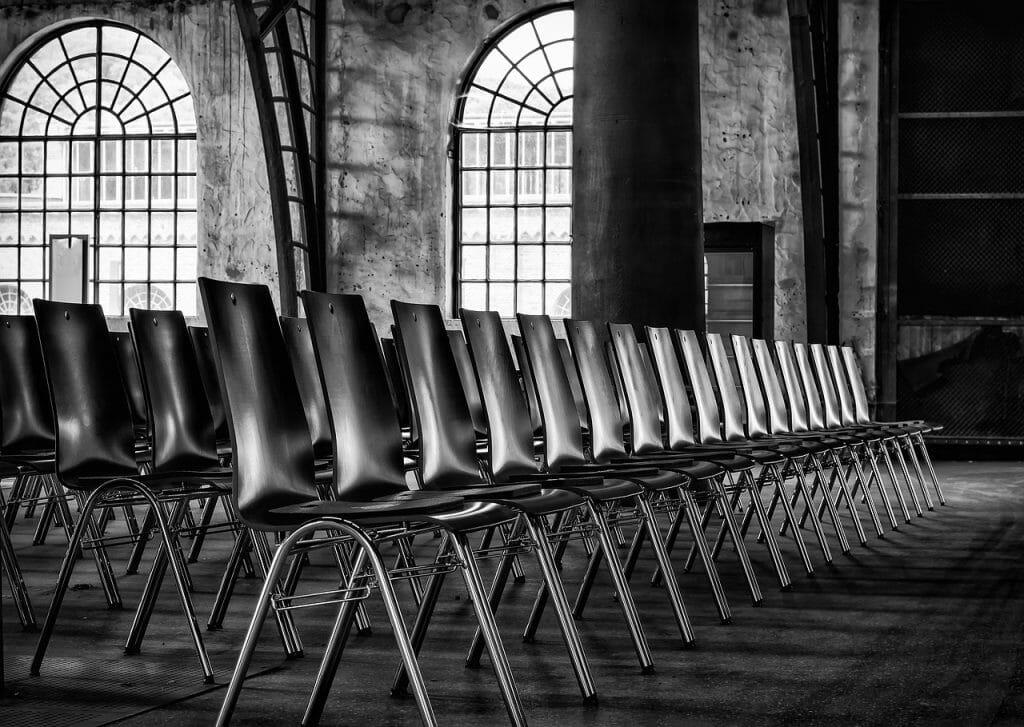 Chairs Series Sit Row Hall Event  - Tama66 / Pixabay